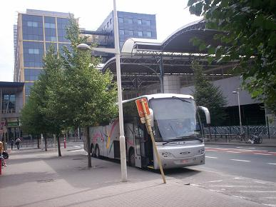 shuttle bus to brussels